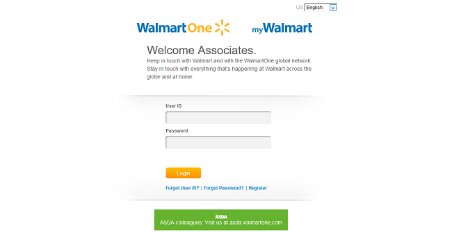 ASDA WalmartOne Login Employee Gain Deal