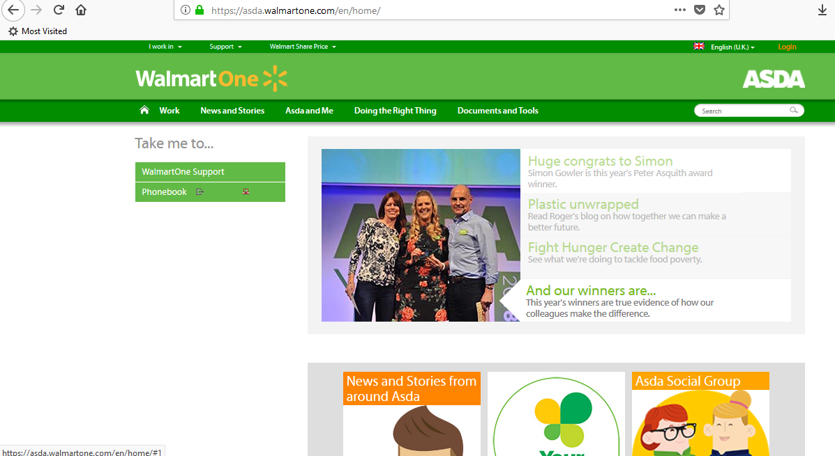 asda walmartone com uk login