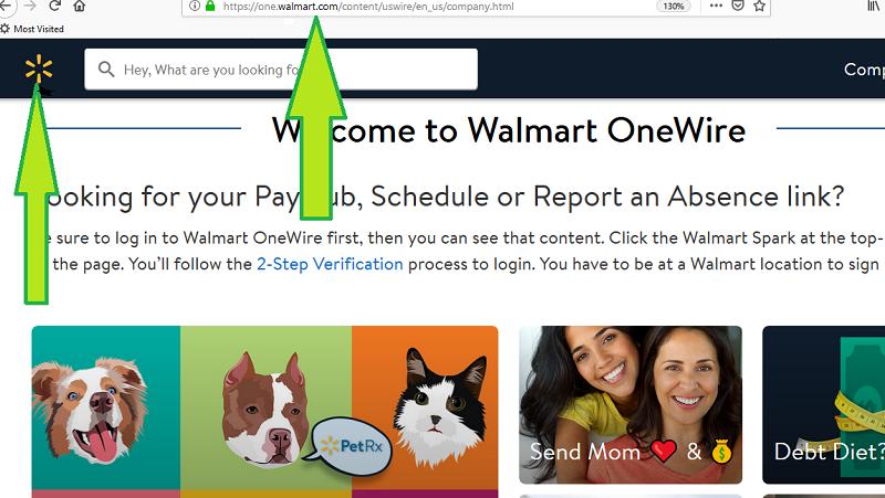 onewalmart.com login